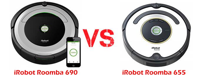 Roomba 690 vs 665