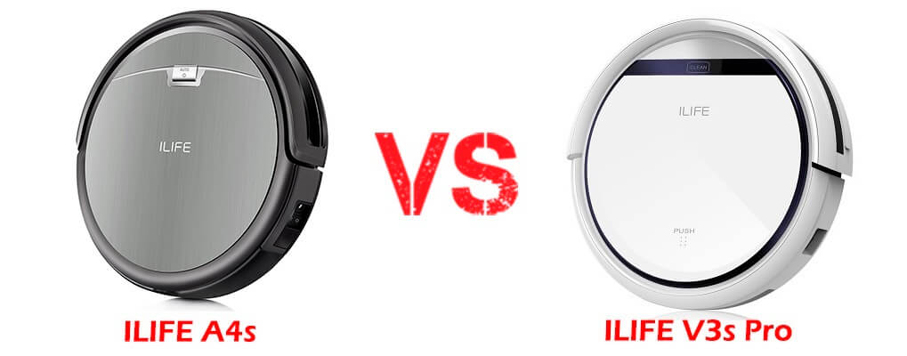 ILIFE A4s vs ILIFE V3s Pro