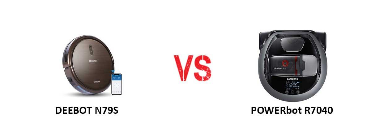 ECOVACS DEEBOT N79S vs Samsung POWERbot R7040