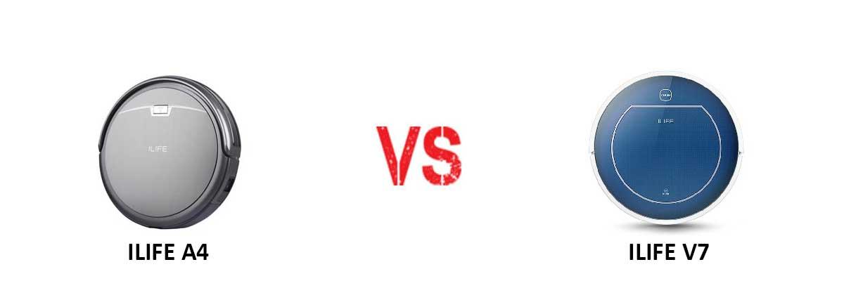 ILIFE A4 vs ILIFE V7