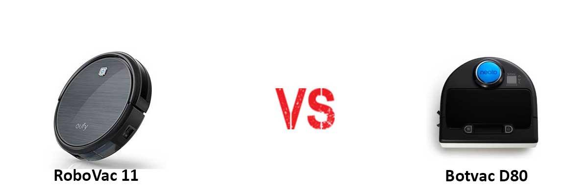 Eufy RoboVac 11 vs Neato Botvac D80