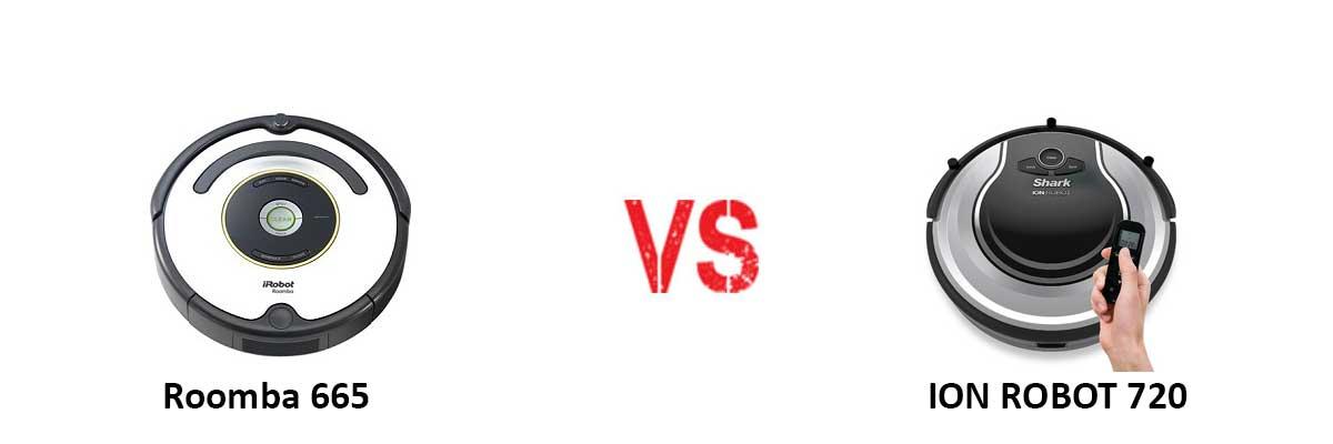 Roomba 671 vs shark
