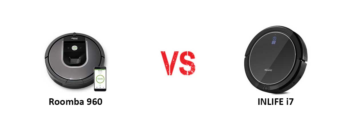 iRobot Roomba 960 vs INLIFE i7