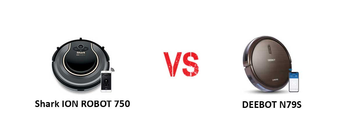 Shark ION ROBOT 750 vs ECOVACS DEEBOT N79S