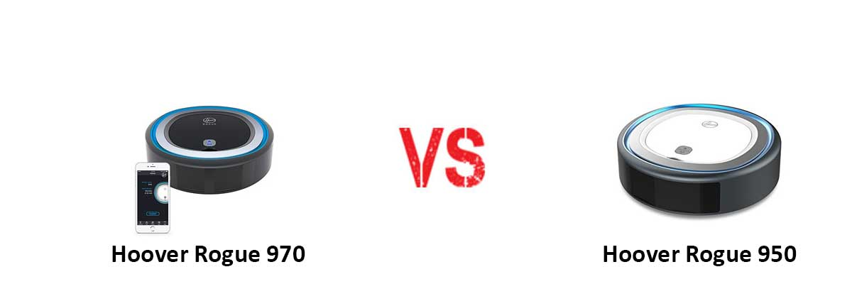 Hoover Rogue 970 vs HOOVER ROGUE 950
